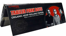 Trailer Park Boys: Organic Hemp Rolling Papers - Black Variant [32-Pack] NEW