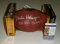 PACKERS Mike Holmgren signed Super Bowl XXXI football w/ SB Champs JSA COA AUTO