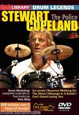 LICK LIBRARY Learn To Play STEWART COPELAND The Police ROXANNE Drum Legends DVD