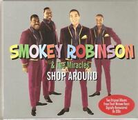 SMOKEY ROBINSON & THE MIRACLES - SHOP AROUND - 2 CD BOX SET