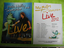 Peter Maffay  und Tabaluga  Tour 2012 und 2016  2 verschiedene Flyer