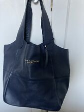 real leather tote bag