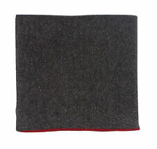 """Grey Rescue Blanket 55% Wool - 60"""" x 80"""" - Great Rescue Item Or Bed Accessory"""