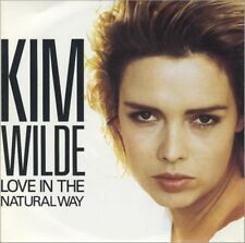 """45T 7"""" KIM WILDE """"LOVE IN THE NATURAL WAY"""" 1989 GERMANY"""