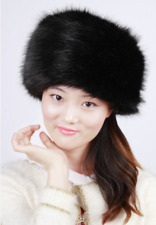 Womens Thicken Faux Fur Caps Winter Warm White Beret Hats Fashion Hot Sales A825