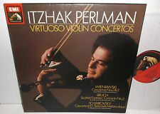 SLS 5280 ASD 4360-2 Virtuoso Violin Concertos Itzhak Perlman 3LP Box Set