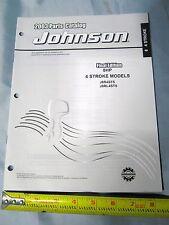 2003 Johnson 8HP 4 Stroke Boat Motor Parts Catalog 5005160, J8R4STS, J8RL4STS