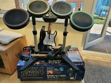 Rock Band 4 PS4 complete BAND-IN-A-BOX Guitar, Drums, microphone, game.