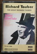 THE GREAT RICHARD TAUBER    CASSETTE TAPE      (RETRO)      TC-AX-1066      (51)