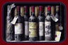 Rotwein Red Wine 7 Flaschen Blechschild Schild Metal Tin Sign 20 x 30 cm CC0658