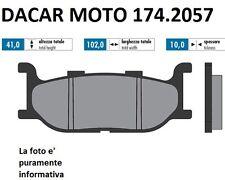 174.2057 PLAQUETTE DE FREIN SINTERED POLINI YAMAHA T MAX 500 Carburateur