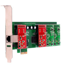 Asterisk Card TDM410 Low Profile,2 FXO+2 FXS card PCI-E aex410 tdm400e FXS FXO