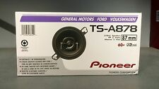 "Pioneer TS-A878 TSA878 3.5"" 2-Way A-Series Coaxial Car Speakers Brand New Low $"