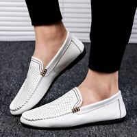 Casuals Shoes Men's LofersTrail Driving Flats Hollow Out Pumps Slip On Leisure