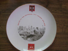 Limited Edition Calgary Centenial Plate Designed & Decorated by Tibor Rada #328