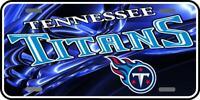 Tennessee Titans 013 Aluminum license plate football tag