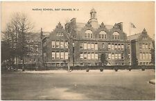 Nassau School in East Orange NJ Postcard