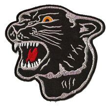 Ecusson patche panthère noire black panther thermocollant patch