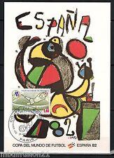 1982//**FDC.CP 1°JOUR**COUPE DU MONDE-FOOTBALL-ESPAGNA.1982**TIMBRE Y/T 2209