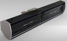 Pubsun Infrared Heaters 1300W Black Ceramic Elements Black Metallic Casing