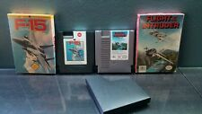 Original Nintendo NES F-15 City War & Flight of the Intruder Boxed Box Lot Games