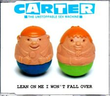 CARTER U.S.M. - LEAN ON ME I WON'T FALL OVER - CD SINGLE