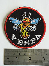 Vespa Wasp Patch - Embroidered - Iron or Sew On