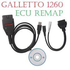 Galletto 1260 ECU Chip Tuning interfaz OBD2 EOBD 2 herramienta de reasignación Flasher VAG Cable