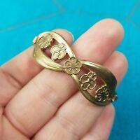 Vintage Childs GIRL SCOUT Metal Bracelet