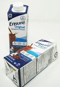 Ensure 64937 Original Milk Chocolate Drink EXP 7/1/21 QTY 24-8oz Cartons