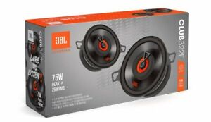 """JBL Club 322F 75 Watt 3.5"""" Club Series 2-Way Coaxial Car Speakers  NEW"""