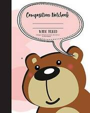 Primary Composition Book - Fairy Wide Ruled Kids School Exercise by Publisher Mi