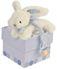 Peluche Lapin Rabbit Bunny Lièvre Hase attache tétine Doudou Et Compagnie bleu 9