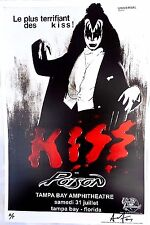 Kiss Original Concert Poster  July 31, 2004 artist Proof Signed and Marked Rare