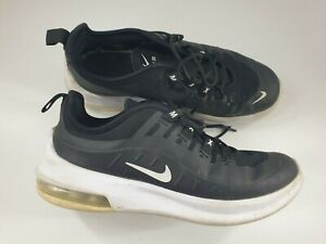 Nike Air Max size 2 (34) black lace up trainers