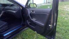 2009 09 Acura TSX Interior Door Trim Panel Black Front Right Passenger 51693