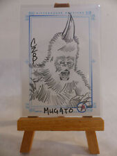 Star Trek 35th Anniversary TOS SketchaFEX Card Mugato John Czop