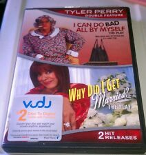 I CAN DO BAD ALL BY MYSELF / WHY DID I GET MARRIED - 2 DVD 2 Hit Releases