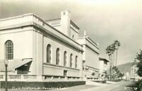 Civic Auditorium Pasadena California 1950s RPPC real photo postcard 2030