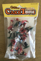 Vintage Wilton Toy Soldier Band Cake Toppers Set of 6