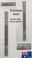 30 cm Metal Ruler Stainless Steel Australian Stock