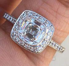 Tiffany & Co. Legacy Cushion Diamond Engagement Ring 1.43 CTW - H VVS2 -Platinum