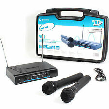 Skytec 171.816 Vh2 VHF Wireless Microphone System Mics Ssc1572