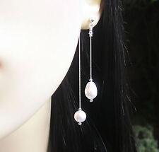 Swarovski Sterling Silver Fine Pearl Earrings