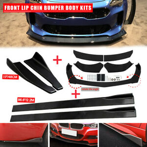 For Kia K5 GT Optima Forte Front Bumper Spoiler Body Kit+Side Skirt +Rear Lip