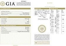 Diamant 0,53ct E VVS2 GIA Zertifikat - 3x Excellent - Keine Fluoreszenze - TOP!