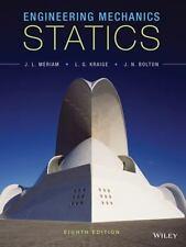 Engineering Mechanics Statics by Meriam, Kriage, Bolton 8th Edition