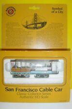 HO BACHMANN SAN FRANCISCO CABLE CAR - UNUSED