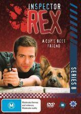 INSPECTOR REX - SERIES 8 (4 DVD SET) BRAND NEW!!! SEALED!!!