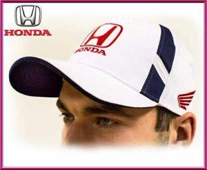 Honda unisex Baseball Cap Hat. 100% cotton. White color. Adjustable size!!!